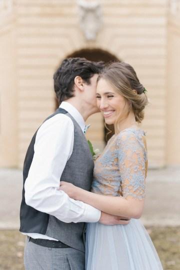 Gorgeous Winter Blue Wedding Inspiration – Irene Fucci 41