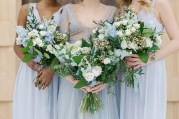 Gorgeous Winter Blue Wedding Inspiration – Irene Fucci 49