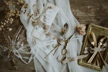 White and Taupe Minimalistic Wedding Inspiration – Vanessa Illi 1