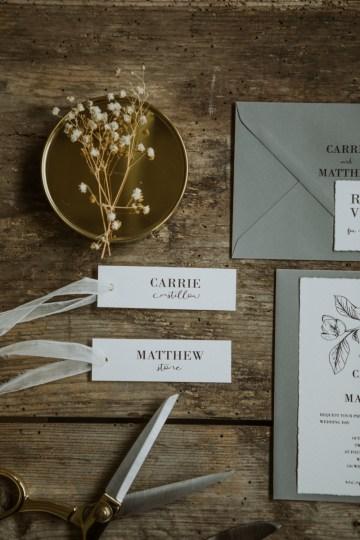 White and Taupe Minimalistic Wedding Inspiration – Vanessa Illi 14