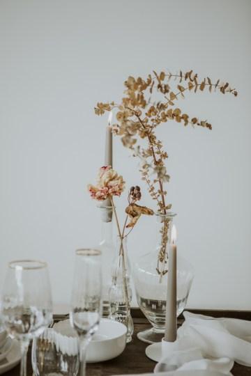 White and Taupe Minimalistic Wedding Inspiration – Vanessa Illi 22