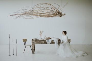 White and Taupe Minimalistic Wedding Inspiration – Vanessa Illi 4