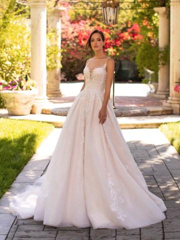 10 Gorgeous Ball Gown Wedding Dresses – Moonlight Bridal – H1425-F