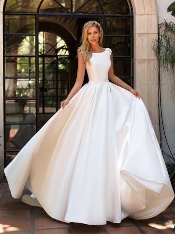 10 Gorgeous Ball Gown Wedding Dresses – Moonlight Bridal – J6701-F