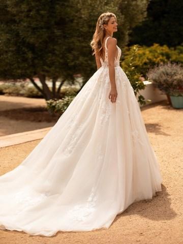 10 Gorgeous Ball Gown Wedding Dresses – Moonlight Bridal – J6778-B
