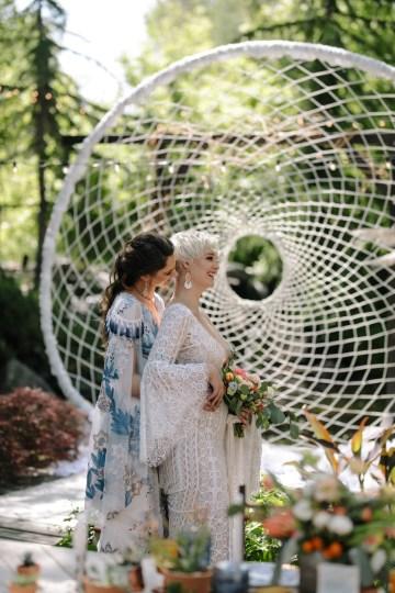 Dreamcatcher Bohemian Wedding Inspiration – Gissell Weddings – Corey Fox Photography – Rue de Seine Bridal 19