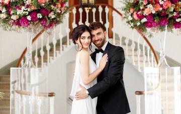 Elegant Persian Wedding Inspiration At Hawkstone Hall