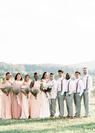 Elegant Virginia Countryside Wedding – Morgan Renee Photography 27