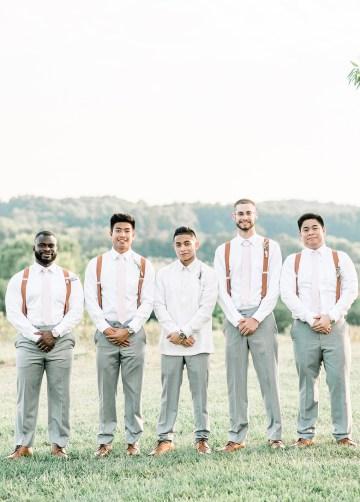 Elegant Virginia Countryside Wedding – Morgan Renee Photography 30