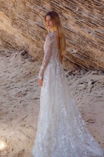 Galia Lahav Gala IX Wedding Dress Collection – Bridal Musings – G-407-back