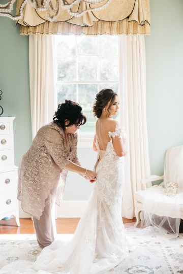Magical Intimate Southern Wedding Under The Oak Trees – Pure Luxe Bride – Lydia Ruth Photography 16