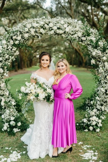 Magical Intimate Southern Wedding Under The Oak Trees – Pure Luxe Bride – Lydia Ruth Photography 41