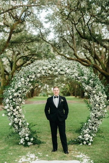 Magical Intimate Southern Wedding Under The Oak Trees – Pure Luxe Bride – Lydia Ruth Photography 43