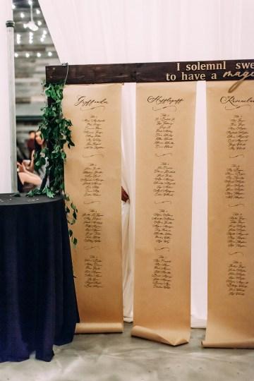Magical Modern Harry Potter Inspired Wedding – Ashlyn Savannah Photo 28