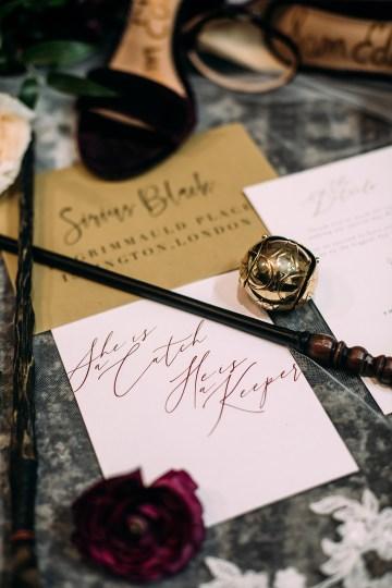 Magical Modern Harry Potter Inspired Wedding – Ashlyn Savannah Photo 37
