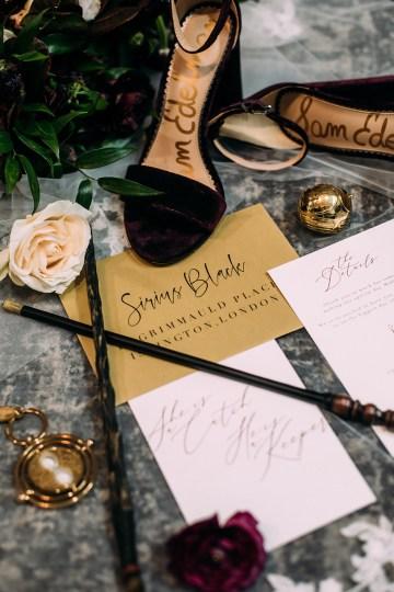 Magical Modern Harry Potter Inspired Wedding – Ashlyn Savannah Photo 44