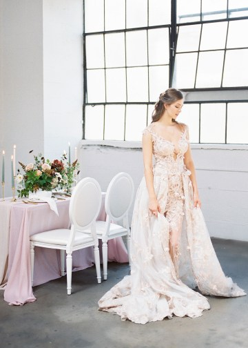 Mauve Fig Wedding Inspiration with a Gorgeous Ballgown Wedding Dress – Maricle King 10
