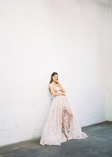 Mauve Fig Wedding Inspiration with a Gorgeous Ballgown Wedding Dress – Maricle King 14