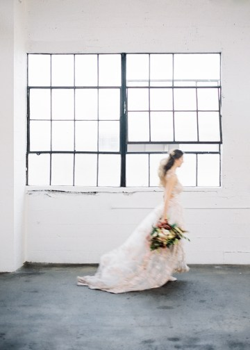Mauve Fig Wedding Inspiration with a Gorgeous Ballgown Wedding Dress – Maricle King 18