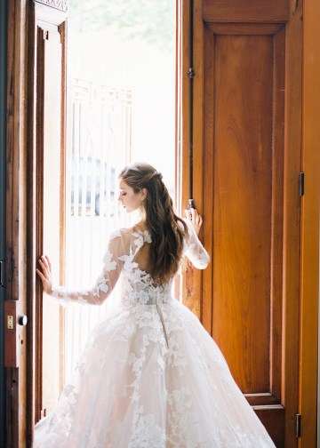 Mauve Fig Wedding Inspiration with a Gorgeous Ballgown Wedding Dress – Maricle King 25