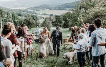 Romantic & Woodsy Czech Republic Wedding