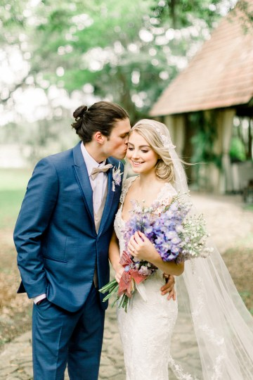 Whimsical Lilac Purple Garden Wedding Inspiration – Danielle Harris Photography 10