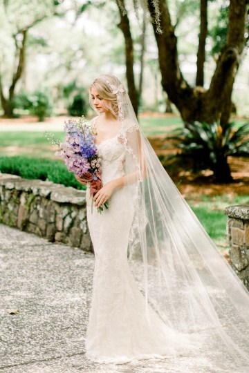 Whimsical Lilac Purple Garden Wedding Inspiration – Danielle Harris Photography 12