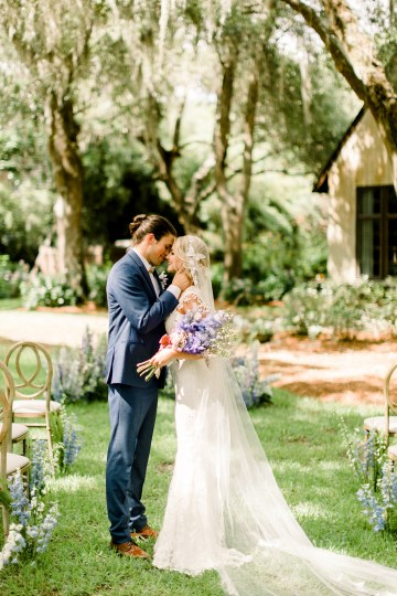 Whimsical Lilac Purple Garden Wedding Inspiration – Danielle Harris Photography 16