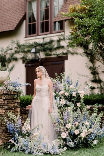 Whimsical Lilac Purple Garden Wedding Inspiration – Danielle Harris Photography 44