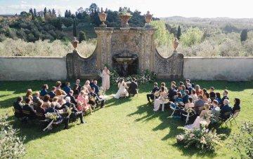A Romantic & Intimate Tuscan Villa Wedding