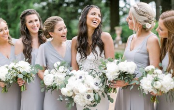 How Gorgeous Is This Southern Ruins Wedding In Georgia?