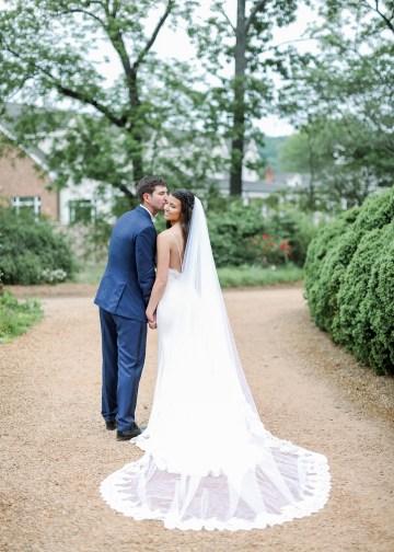 Blue Wedding at Barnsley Gardens Ruins in Georgia – Shauna Veasey 26