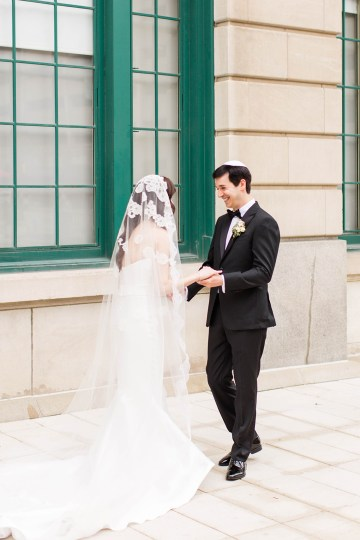 Ornate Jewish Ballroom Wedding with the Brides Grandmothers Wedding Dress – Danielle Harris Photography 12