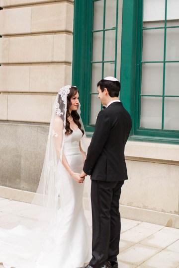Ornate Jewish Ballroom Wedding with the Brides Grandmothers Wedding Dress – Danielle Harris Photography 13