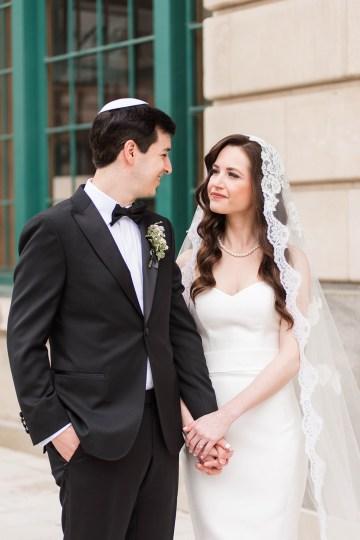 Ornate Jewish Ballroom Wedding with the Brides Grandmothers Wedding Dress – Danielle Harris Photography 19