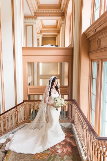 Ornate Jewish Ballroom Wedding with the Brides Grandmothers Wedding Dress – Danielle Harris Photography 26