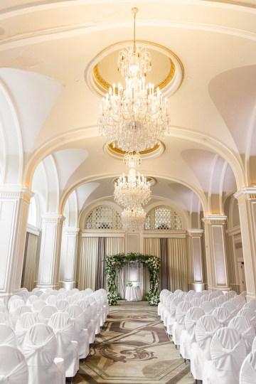 Ornate Jewish Ballroom Wedding with the Brides Grandmothers Wedding Dress – Danielle Harris Photography 30