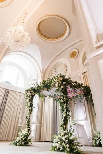 Ornate Jewish Ballroom Wedding with the Brides Grandmothers Wedding Dress – Danielle Harris Photography 34