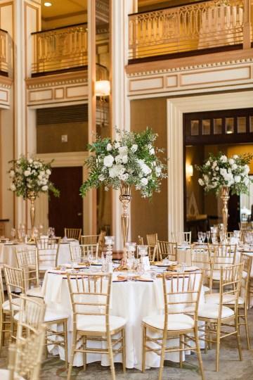 Ornate Jewish Ballroom Wedding with the Brides Grandmothers Wedding Dress – Danielle Harris Photography 43