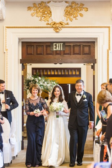 Ornate Jewish Ballroom Wedding with the Brides Grandmothers Wedding Dress – Danielle Harris Photography 59
