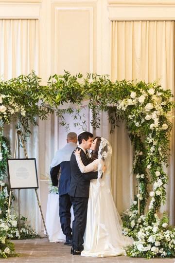 Ornate Jewish Ballroom Wedding with the Brides Grandmothers Wedding Dress – Danielle Harris Photography 63