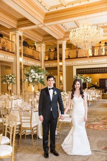 Ornate Jewish Ballroom Wedding with the Brides Grandmothers Wedding Dress – Danielle Harris Photography 69