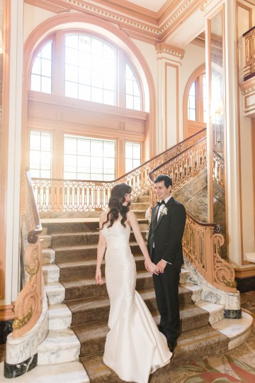 Ornate Jewish Ballroom Wedding with the Brides Grandmothers Wedding Dress – Danielle Harris Photography 71