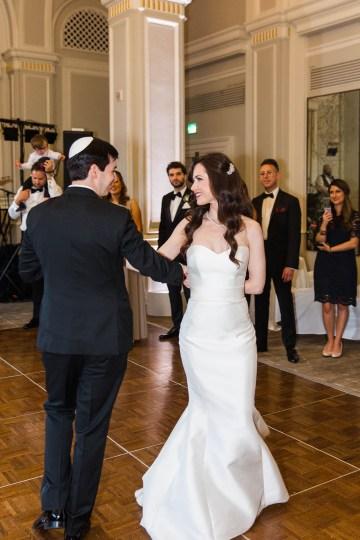 Ornate Jewish Ballroom Wedding with the Brides Grandmothers Wedding Dress – Danielle Harris Photography 74