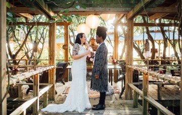 Japanese-Inspired Miami Koi Gardens Wedding