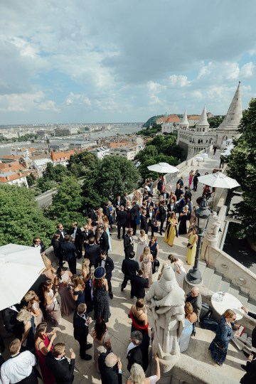 Practically Royal Classic Budapest Cathedral Wedding – Julian Gyula Zacsfalvi 23