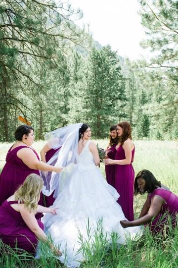 Whimsical Forest Lodge Congolese American Wedding – Honeybee Weddings 12
