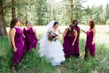 Whimsical Forest Lodge Congolese American Wedding – Honeybee Weddings 16