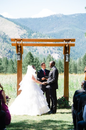 Whimsical Forest Lodge Congolese American Wedding – Honeybee Weddings 24