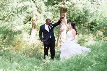 Whimsical Forest Lodge Congolese American Wedding – Honeybee Weddings 38